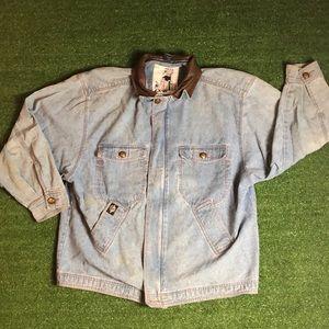 Levi's x Dockers denim zip up jacket